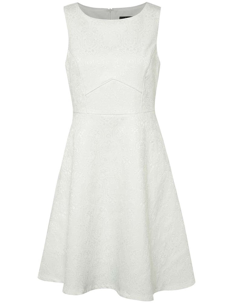 Bílé vzorované šaty Smashed Lemon