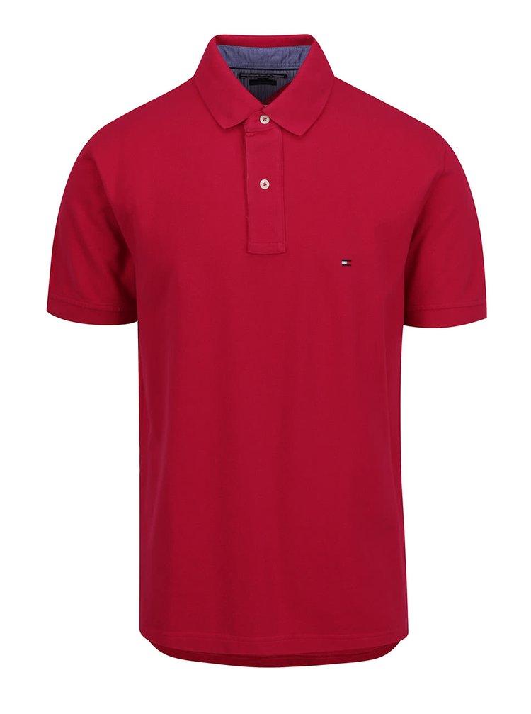 Červené pánské polo triko Tommy Hilfiger