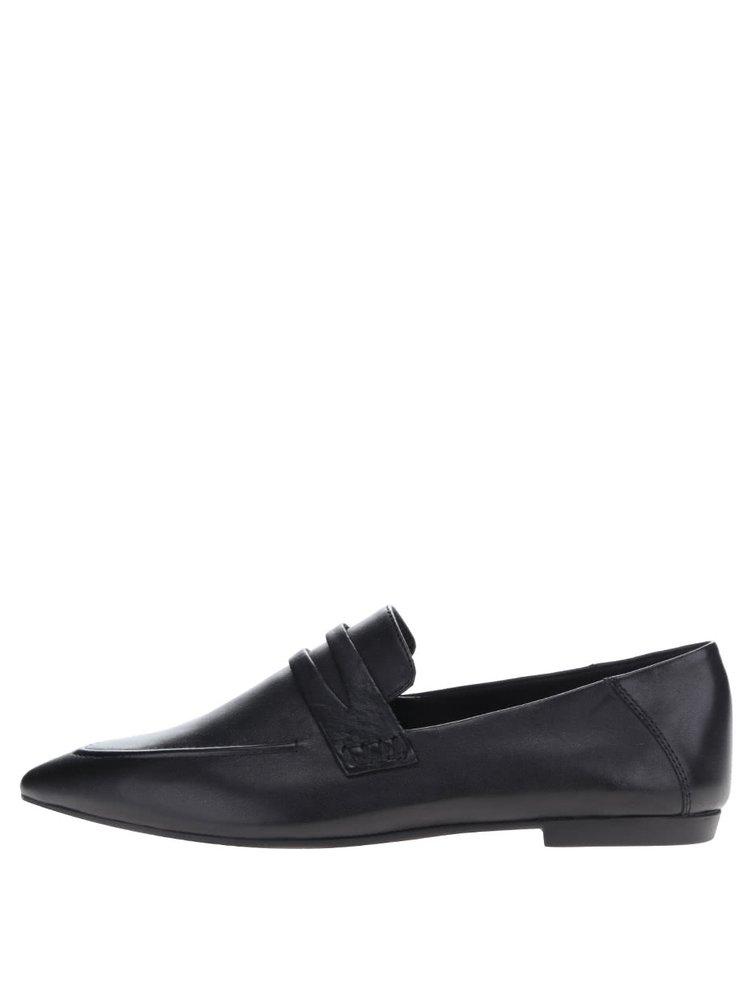 Pantofi loafer negri Vagabond Katlin din piele