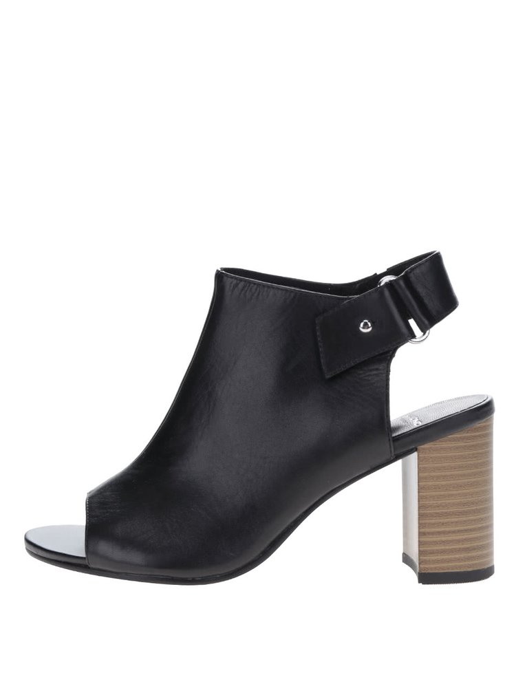 Černé boty na podpatku Vagabond Beatriz