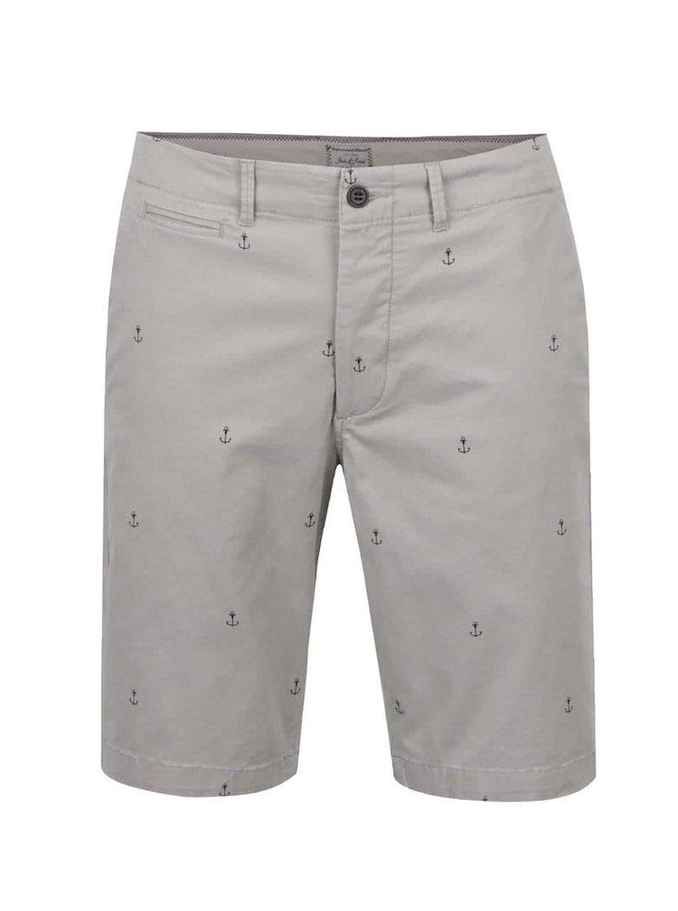 Pantaloni scurți gri Jack&Jones Mini Chino din bumbac