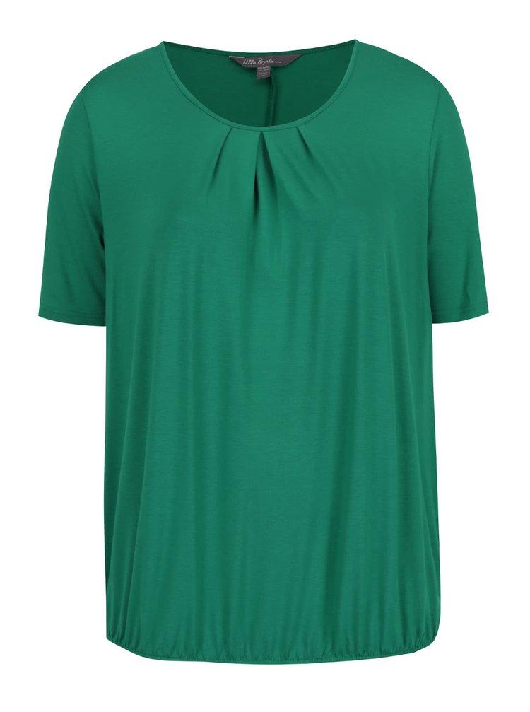Zelený top s krátkým rukávem Ulla Popken