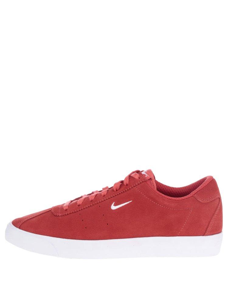 Červené pánské semišové tenisky Nike Match Classic Suede