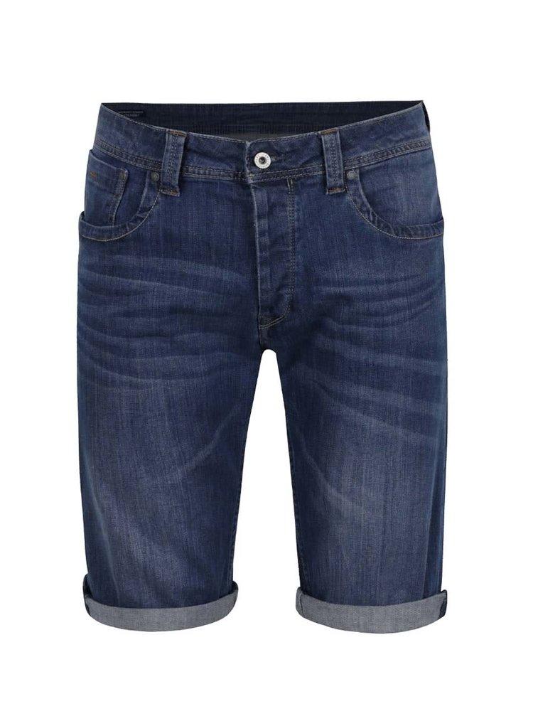 Tmavě modré pánské kraťasy Pepe Jeans Cash