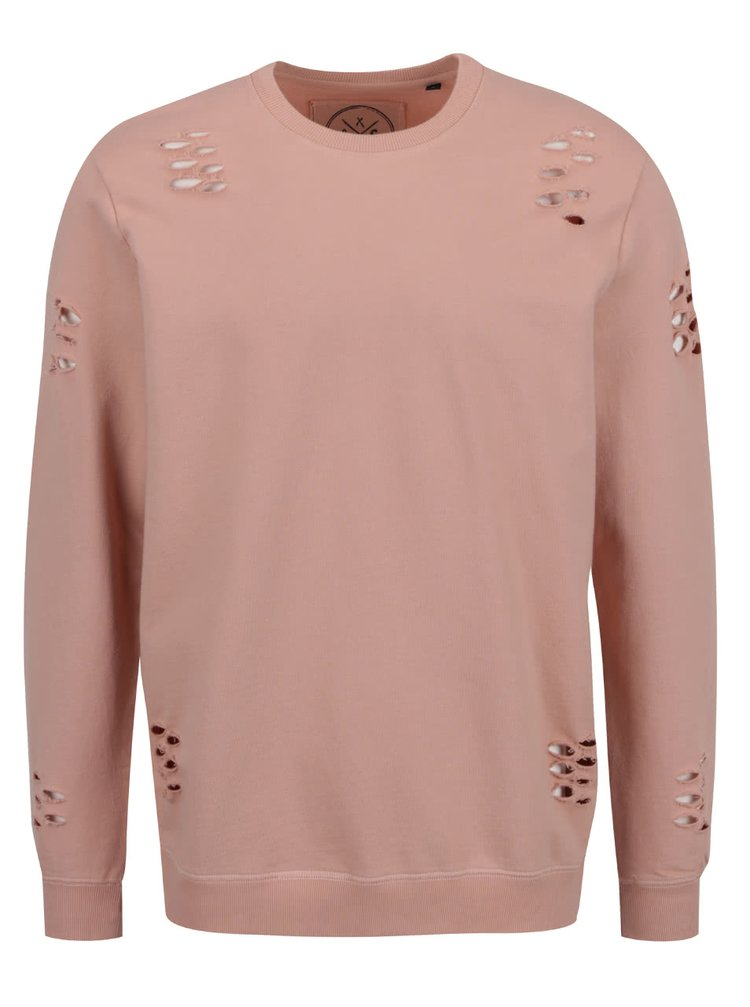 Bluză sport roz prăfuit ONLY & SONS Hole
