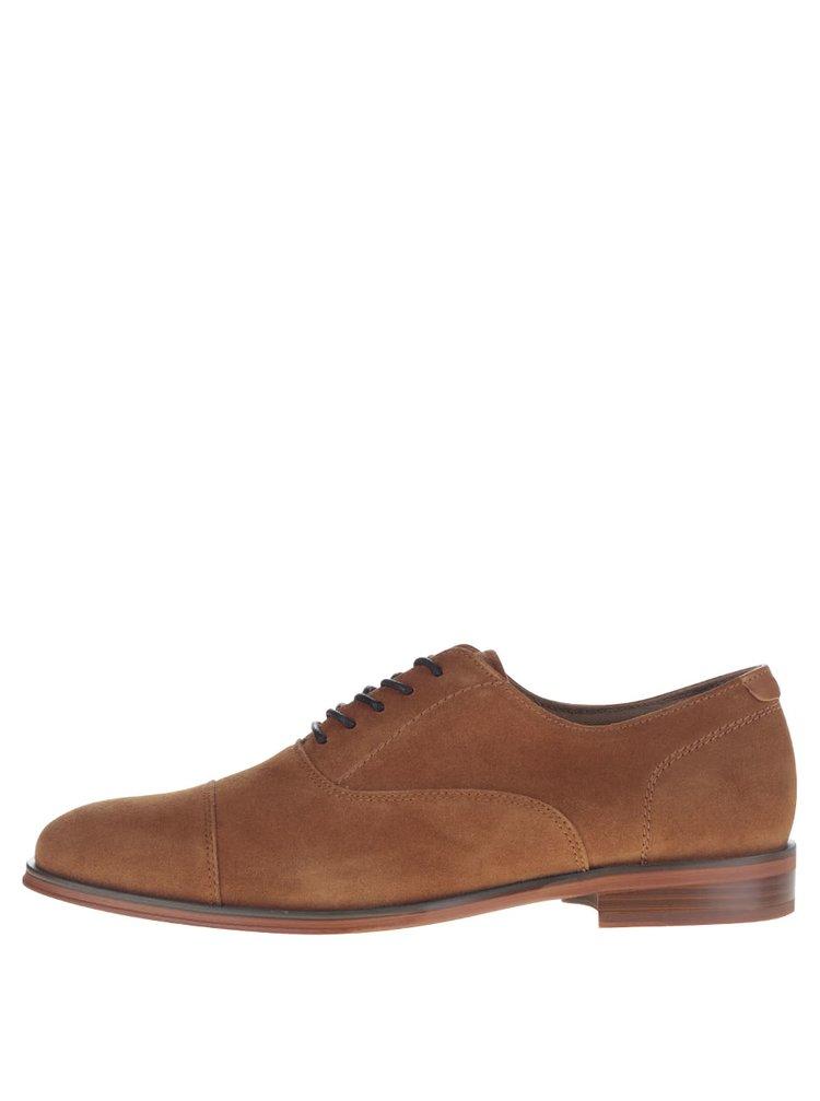 Pantofi maro ALDO Narmol din  piele întoarsă
