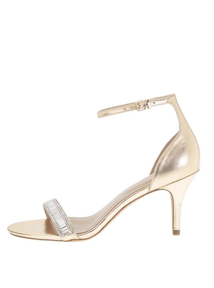 Sandálky ve zlaté barvě ALDO Kaylla