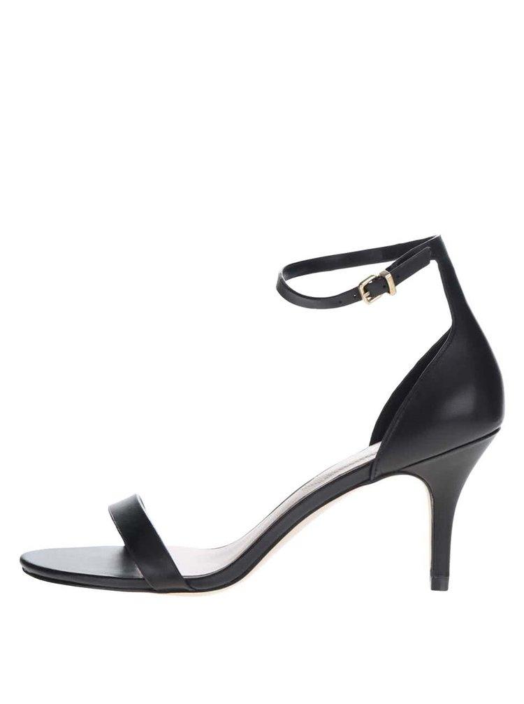 Sandale negre ALDO Zenavia din piele