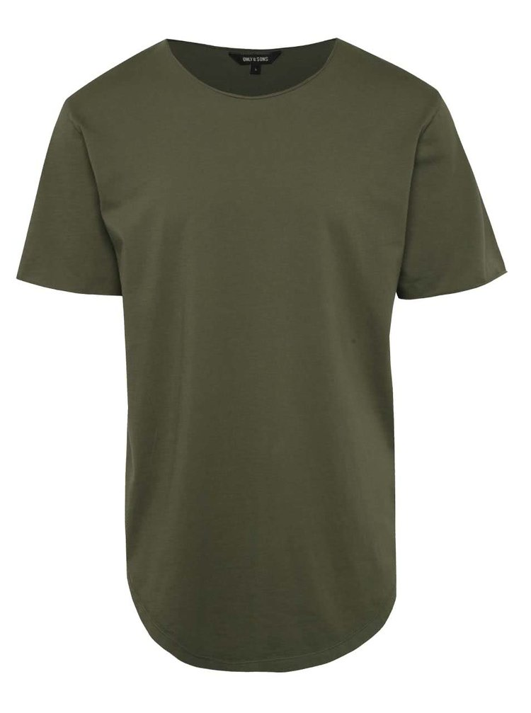 Tricou basic verde ONLY & SONS Mahu