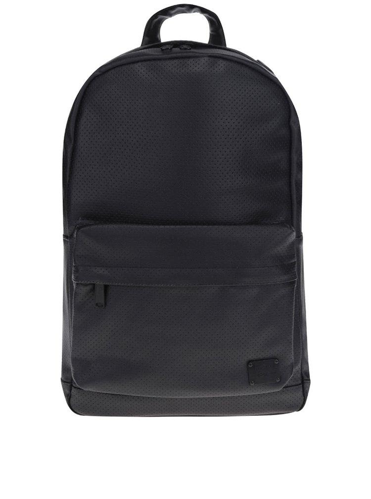Rucsac negru Spiral Faux Leather 18 L