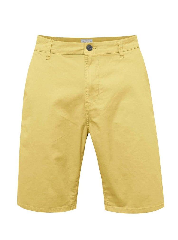 Pantaloni scurți galbeni ONLY & SONS Holm