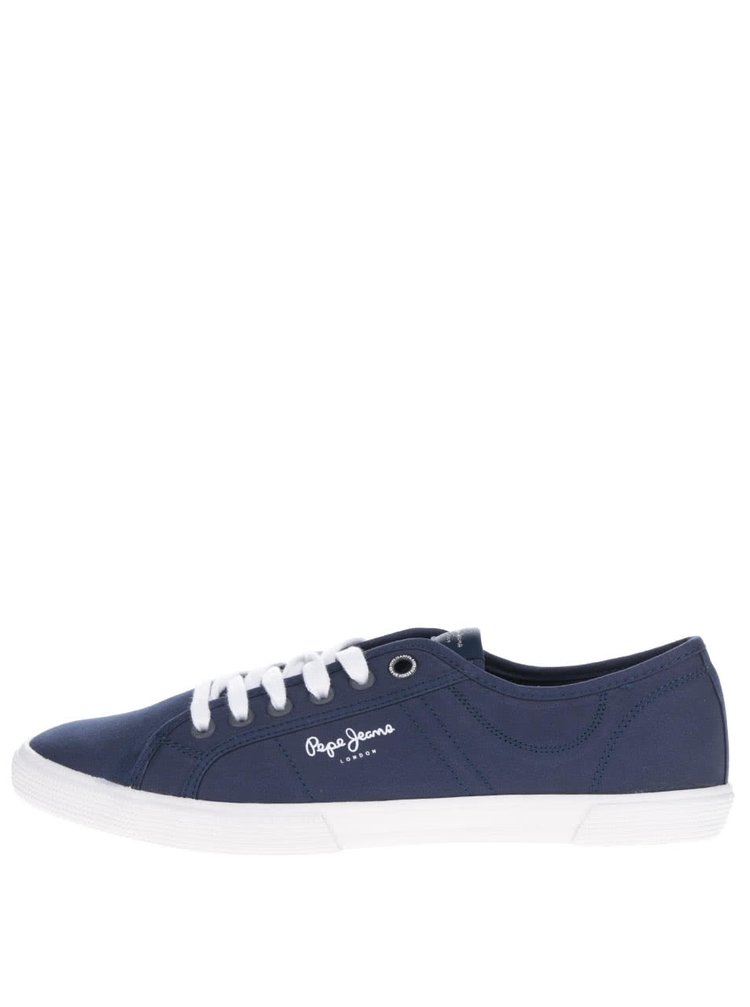 Pantofi sport albastru închis Pepe Jeans Aberman