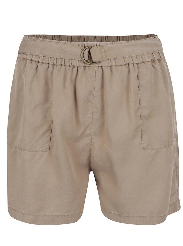 Pantaloni scurți bej ONLY Arizona