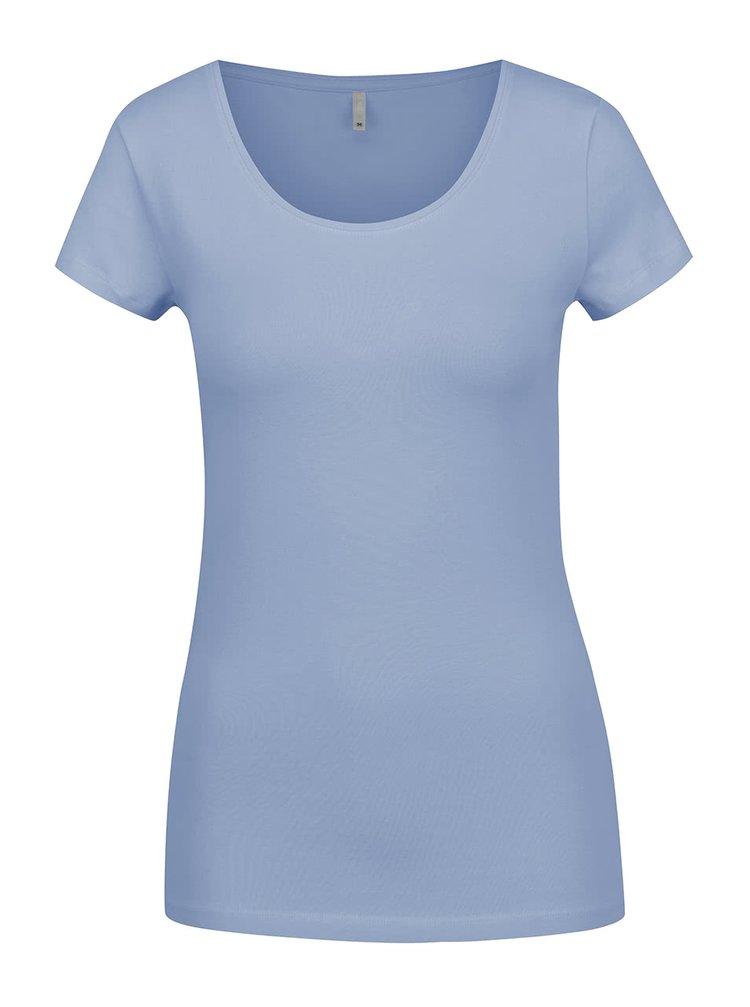 Tricou basic albastru deschis ONLY Live
