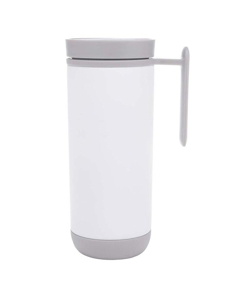 Bílý termohrnek XD Design Click 225 ml