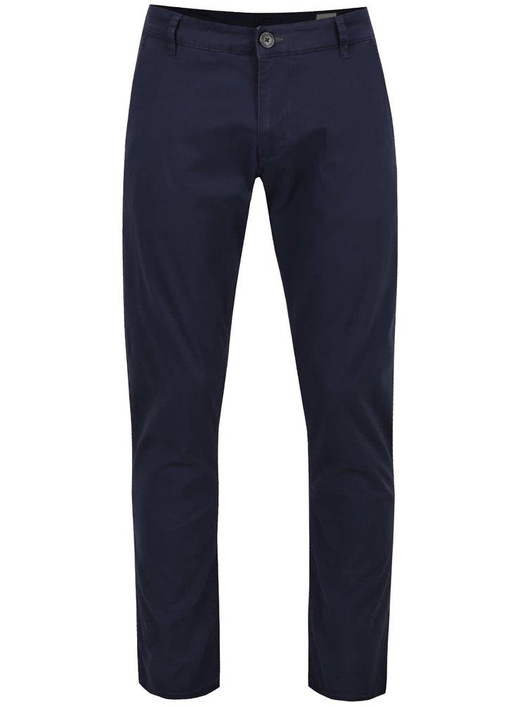 Pantaloni albastru închis Selected Homme Three Paris