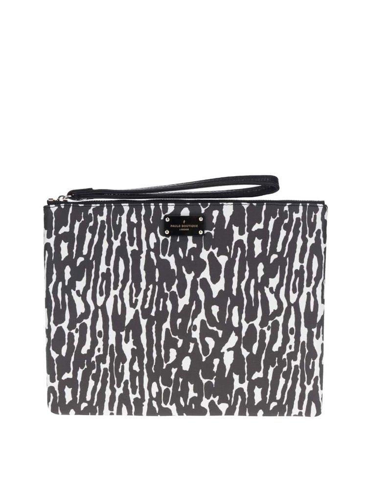 Krémovo-černé vzorované psaníčko Paul's Boutique Stephanie