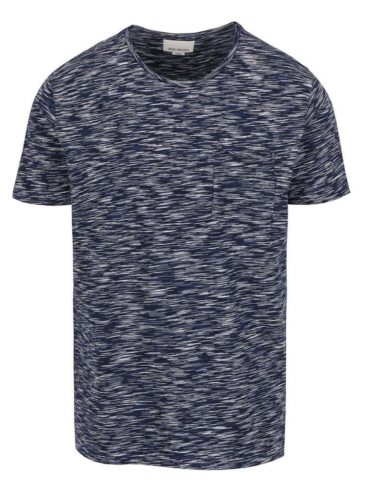 Tricou albastru închis Shine Original cu model
