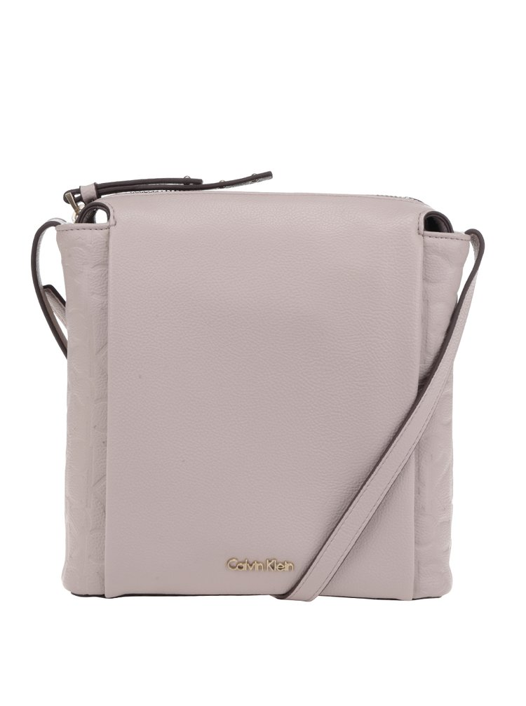 Béžová dámská crossbody kabelka Calvin Klein Jeans Misha