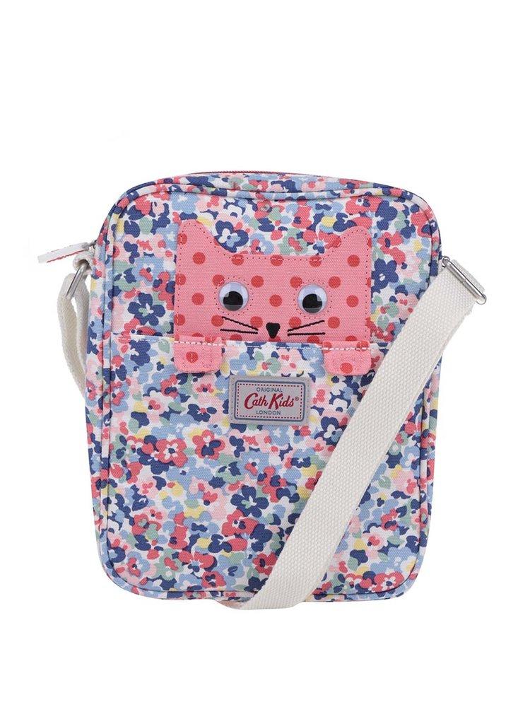 Modro-růžová holčičí crossbody kabelka Cath Kidston
