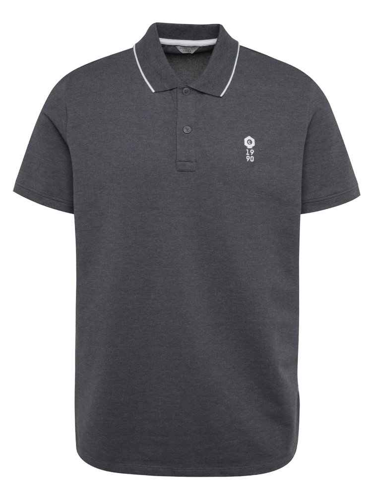 Tricou polo gri Jack & Jones Stone