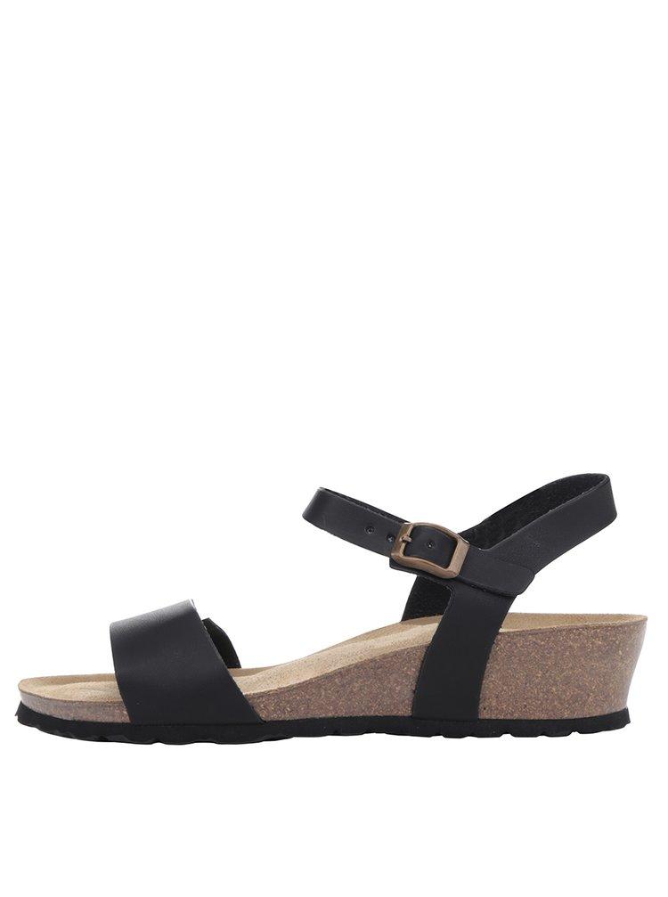 Černé dámské sandály OJJU