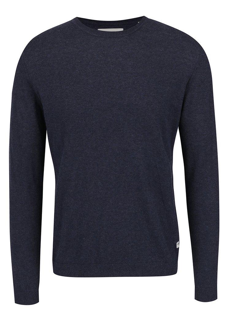 Bluza albastra ONLY & SONS Abacas din jerseu