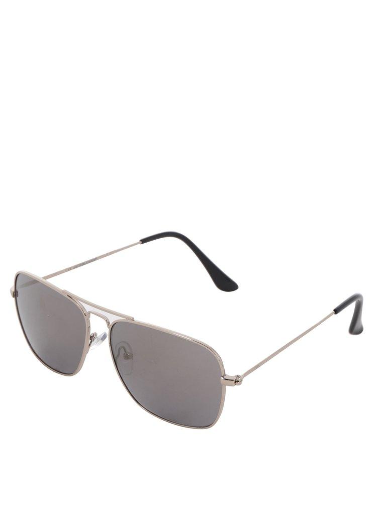 Sluneční brýle ve stříbrné barvě Jack & Jones