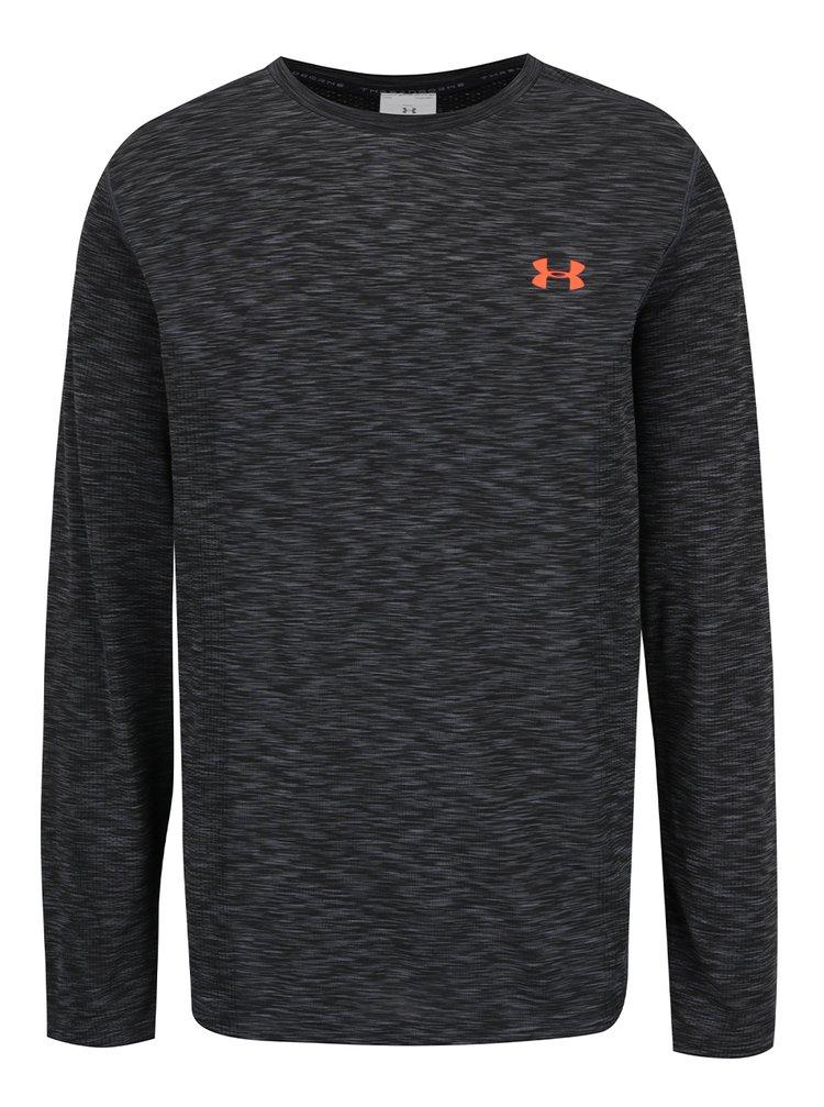 Bluză sport gri Under Armour UA Threadborne Knit pentru bărbați