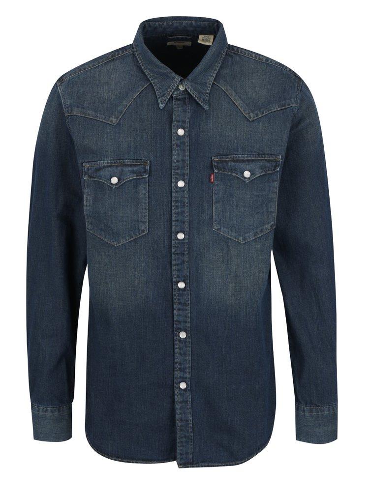 Tmavě modrá pánská džínová košile Levi's®