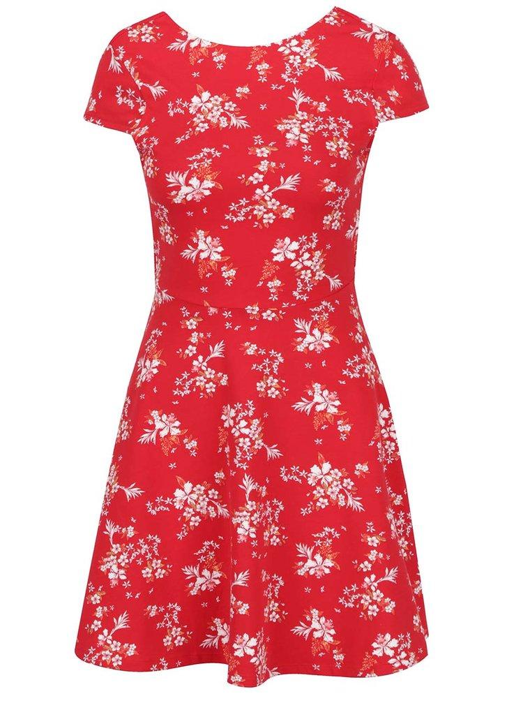 Rochie roșie TALLY WEiJL cu imprimeu floral