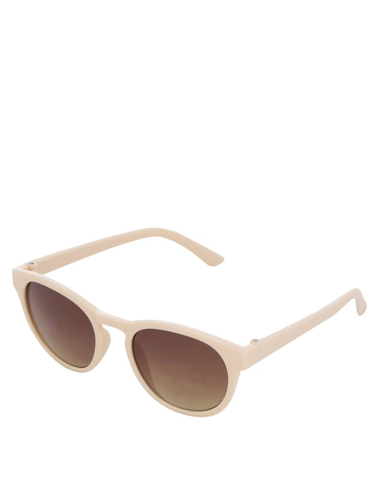 Béžové holčičí sluneční brýle name it