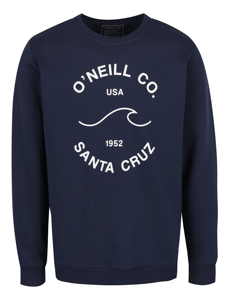 Modrá pánská mikina bez kapuce O'Neill  Sunrise