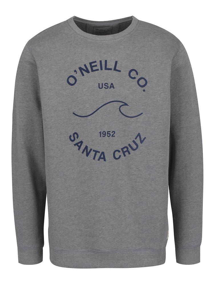 Bluza sport gri melanj O'Neill  Sunrise
