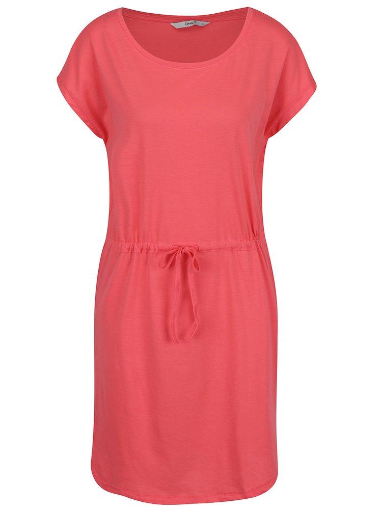 Ružové šaty ONLY May