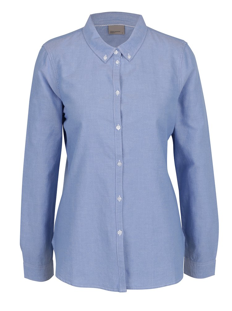 Světle modrá košile VERO MODA Katie