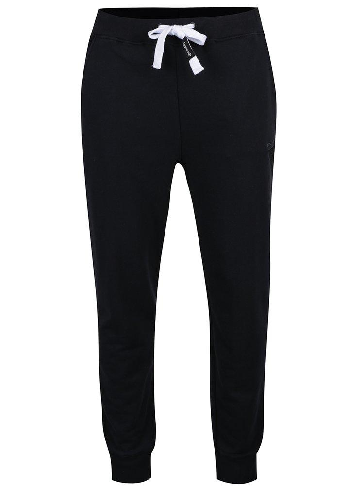 Pantaloni sport negri MEATFLY Joy 2  pentru bărbați