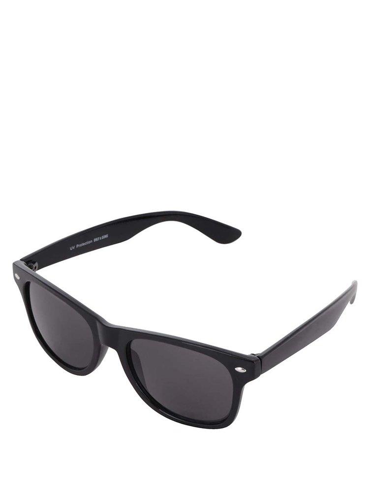 Černé sluneční brýle ONLY & SONS Wayfarer
