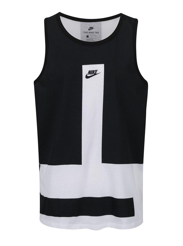 edebeda18 Čierno-biele pánske tielko Nike Modern | ZOOT.sk