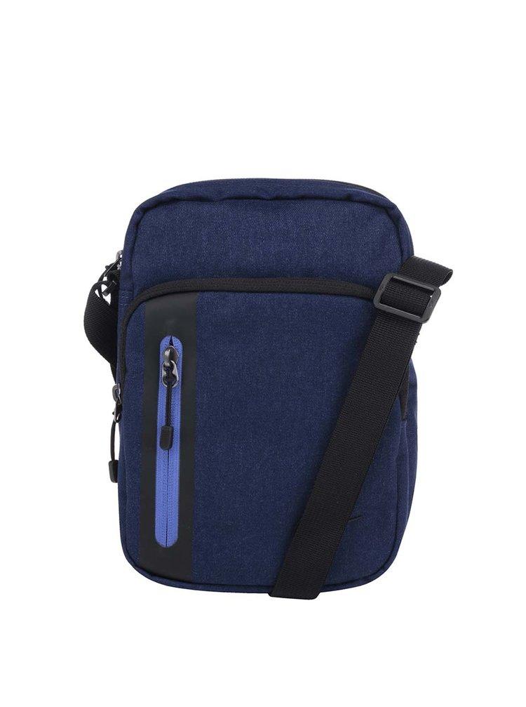 Modrá unisex crossbody taška Nike Core Small