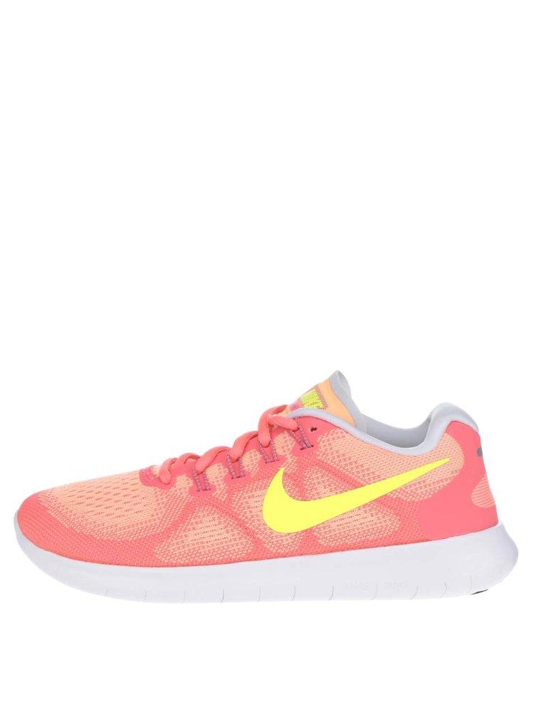 Pantofi sport portocalii Nike Free Commuter unisex