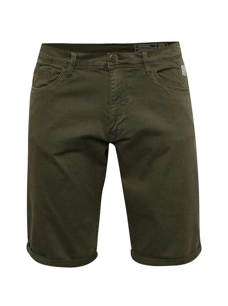 Pantaloni kaki Blend cu terminații îndoite
