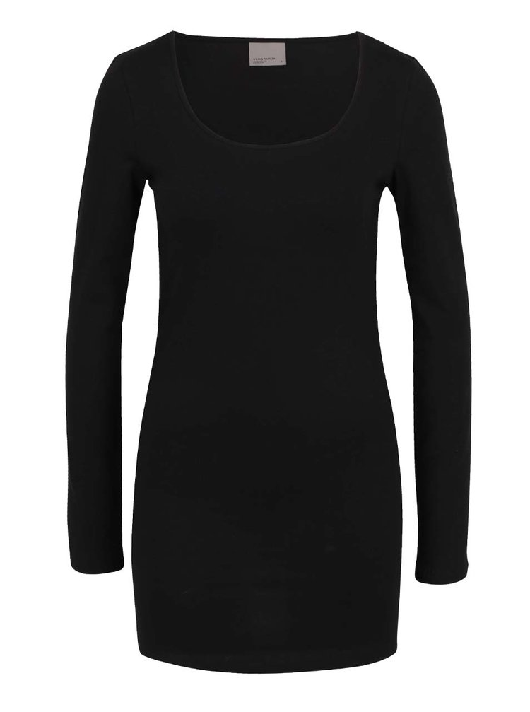 Bluză neagră basic VERO MODA Maxi My
