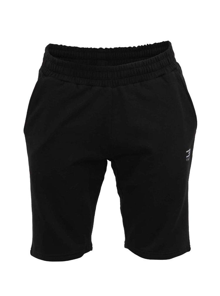 Pantaloni scurti negri Jack&Jones Slider