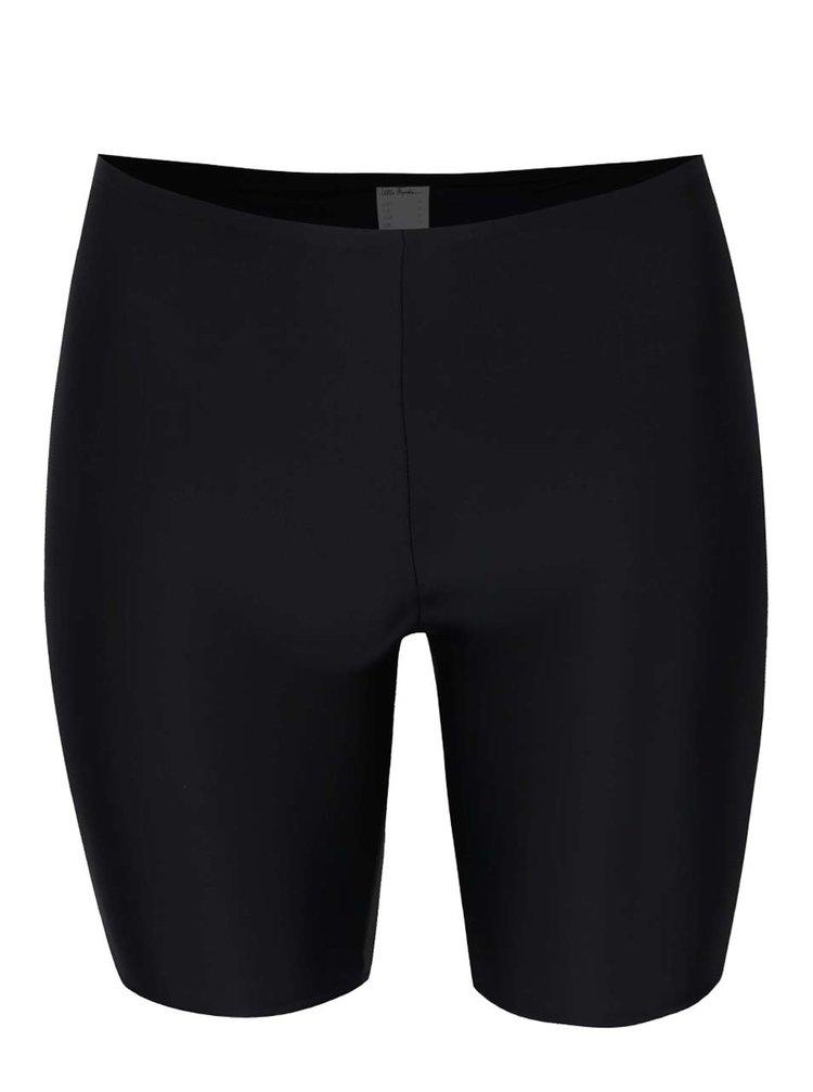 Černý spodní díl plavek s nohavičkami Ulla Popken