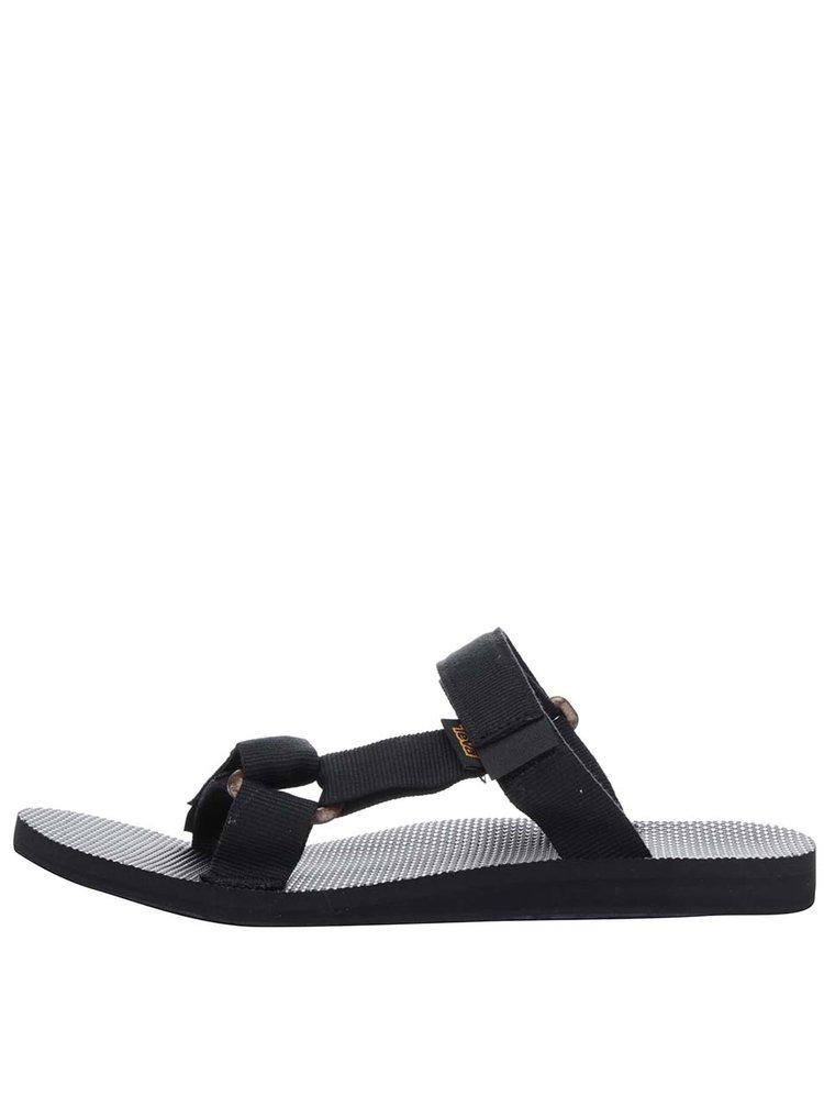 Papuci flip-flop negri Teva pentru bărbați