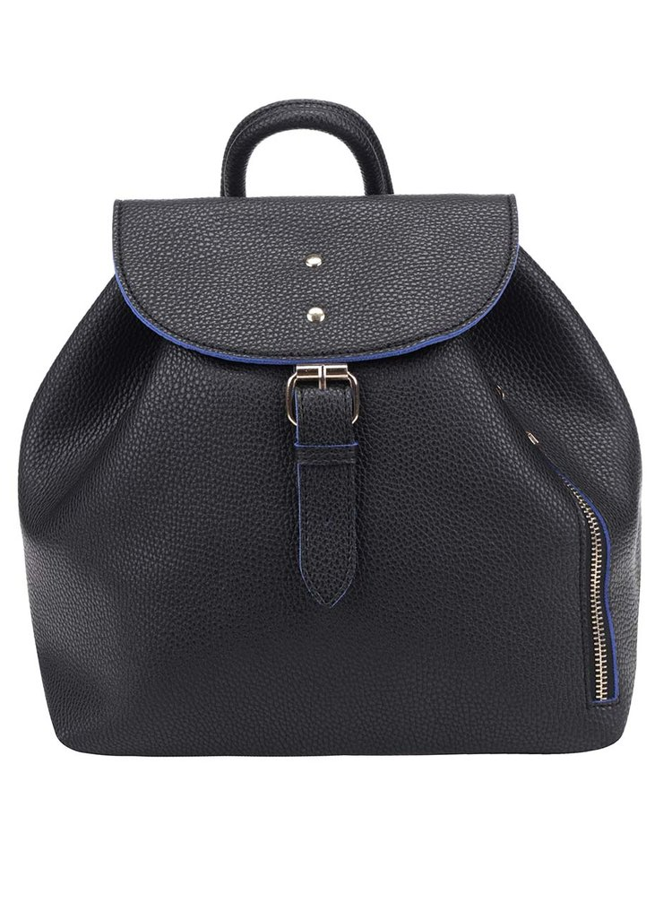 Černý batoh se zipem Fez by Fez Zaino Zip