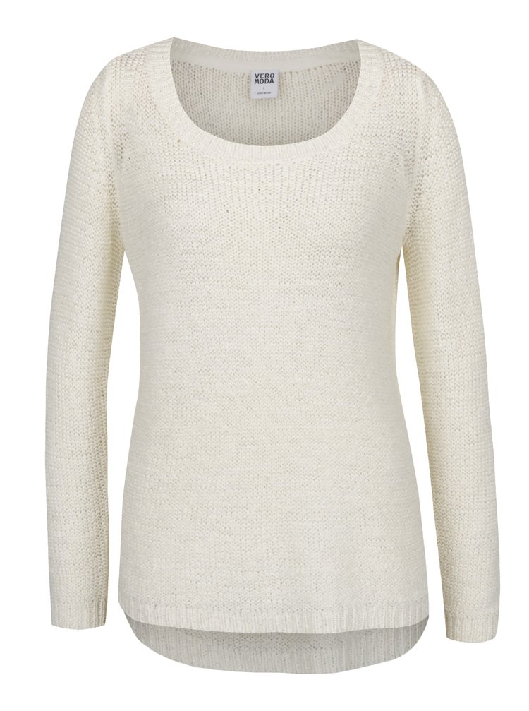 Bílý svetr VERO MODA Charity
