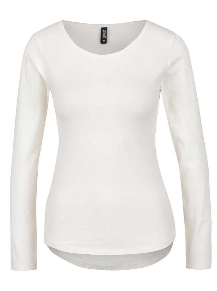 Bluză crem cu maneci lungi Haily´s Tina