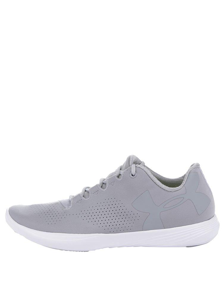Pantofi sport gri Under Armour UA W Street Precision Low pentru femei